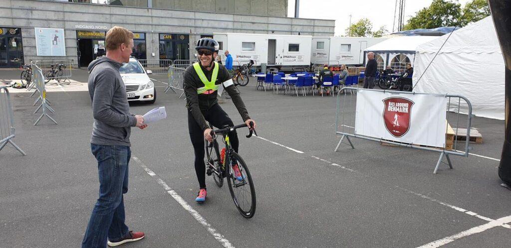 Martin Attermann før starten på Race Around Denmark 2019